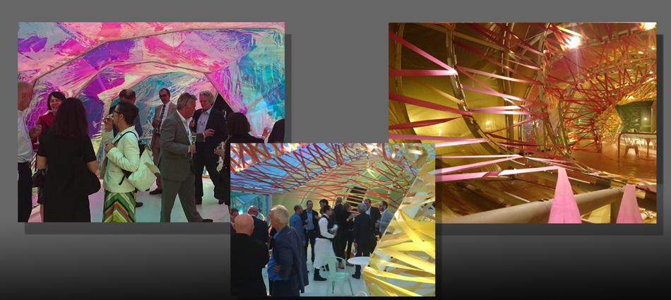 Summer Reception 2015 at the Serpentine Pavillion by Selgascano
